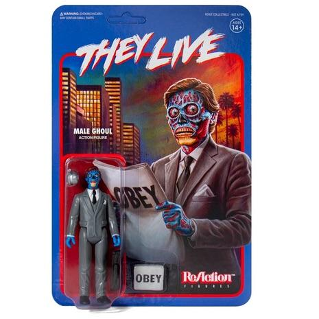 """They Live"" ReAction Male Ghoul Figure"