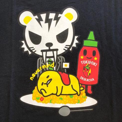 Spicy Gudetama Men's Tee by Tokidoki x Gudetama
