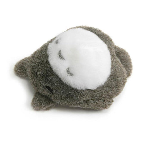 Laying Down Totoro Mini Bean Bag Plush