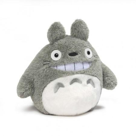 Smiling Grey Totoro Plush - 6 Inches