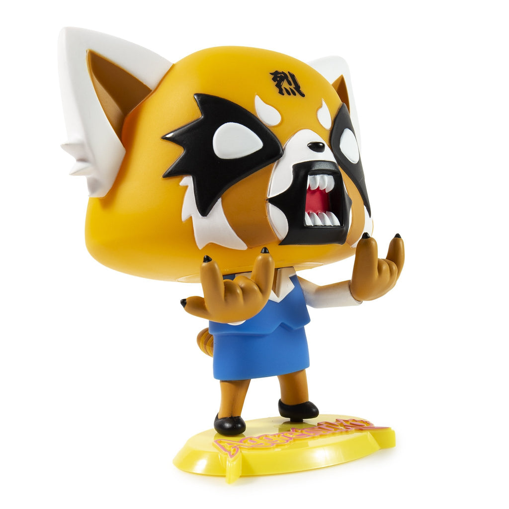 Aggretsuko Rage Medium Vinyl Figure