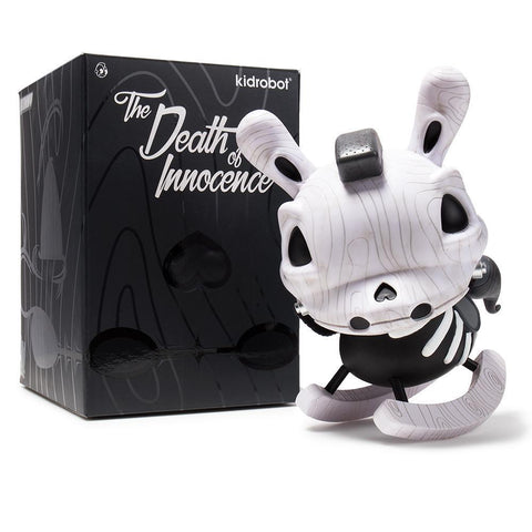 "The Death of Innocence 8"" Dunny - Bone White"