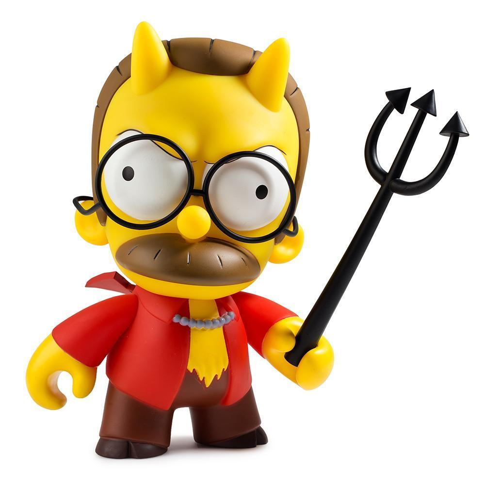 The Simpsons Devil Flanders Vinyl Figure by KidRobot