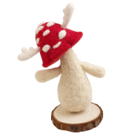 Wool Folks Woodland Sprite — Red