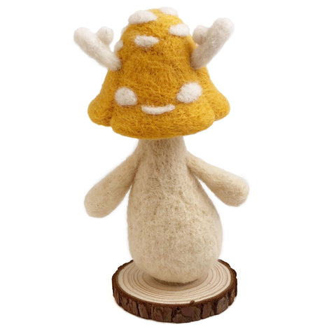 Wool Folks Woodland Sprite — Yellow