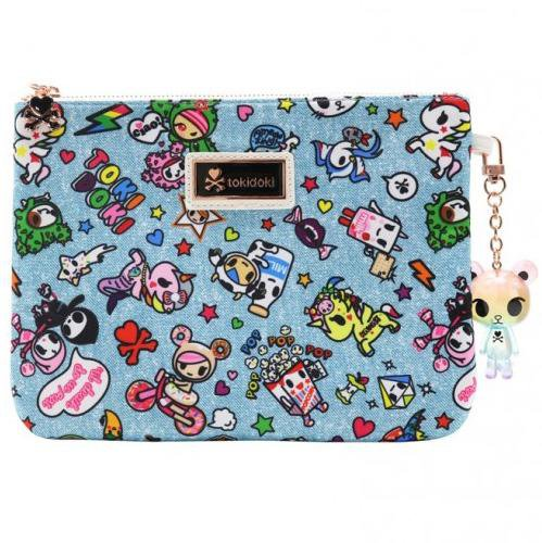 Denim Daze Zip Pouch by Tokidoki