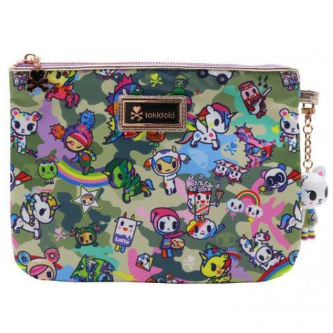 Camo Kawaii Zip Pouch by Tokidoki