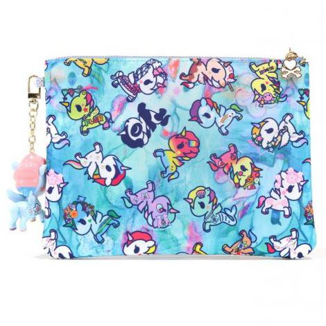 Watercolor Paradise Zip Pouch from tokidoki