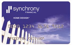 Home Design Credit Card by Synchrony Bank - Revolving Store Card