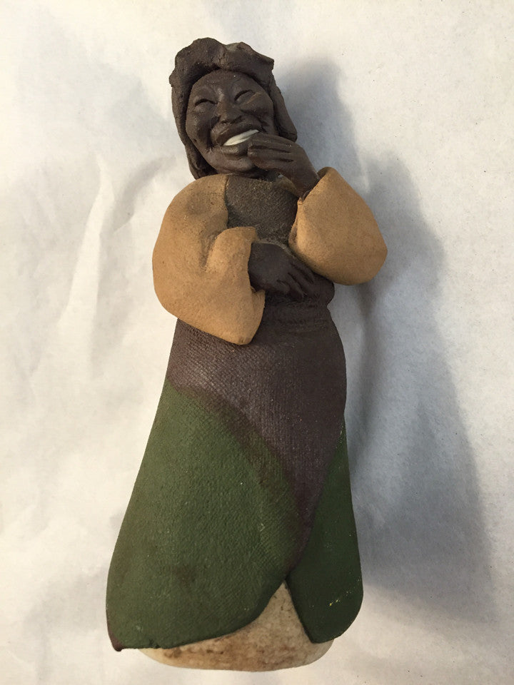 1985 St.Buonaiuto Sculpture Black Memorabilia/Art - Jarred's Homegoods / Treasure Brokers  - 1