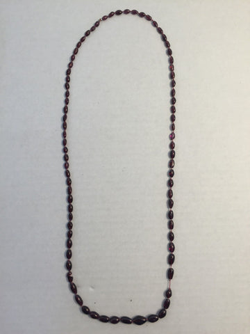 "32"" Garnet Necklace"