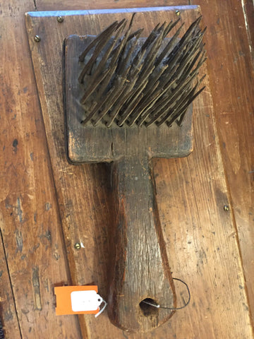Antique Primitive Iron Shredder Large -   - 1
