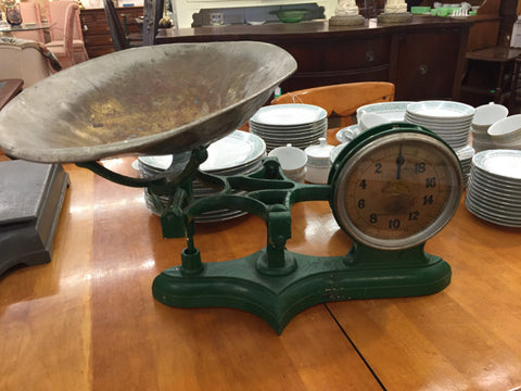 Chas. Forschner & Sons New York, NY Antique Cast Iron Scale - Jarred's Homegoods / Treasure Brokers  - 1