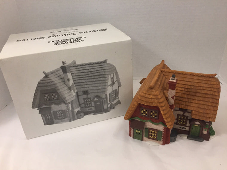 "Department 56 ""Cob Cottage"" 5824-6  Holiday"