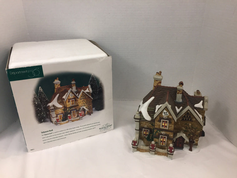 "Department 56 ""Tattyeave Knoll"" Holiday  #58311"