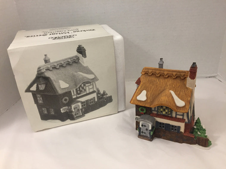 "Department 56 Village David Copperfied ""Betsy Trotwood's Cottage""  Holiday"