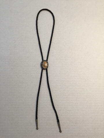 Fashion Necklace /  Slider on Rope