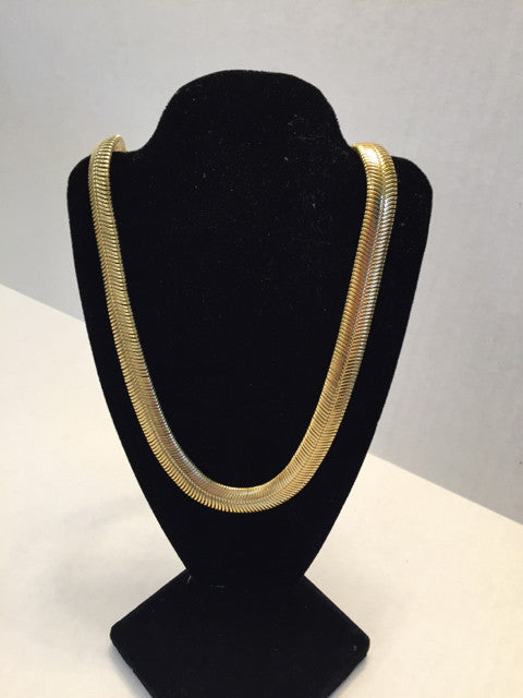 Fashion Necklace Gold Tone