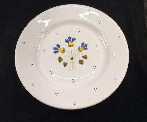"Five (5) 11"" Dinner Plates - Made in Italy for Williams Sonoma - Jarred's Homegoods / Treasure Brokers  - 1"
