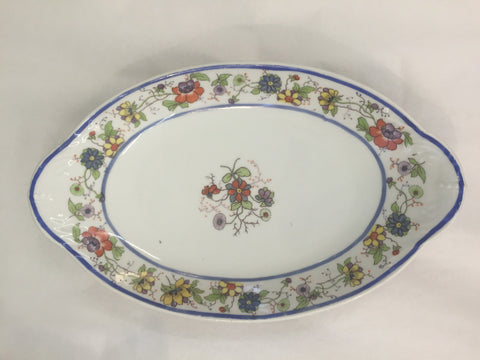 Floral Dish - Jarred's Homegoods / Treasure Brokers