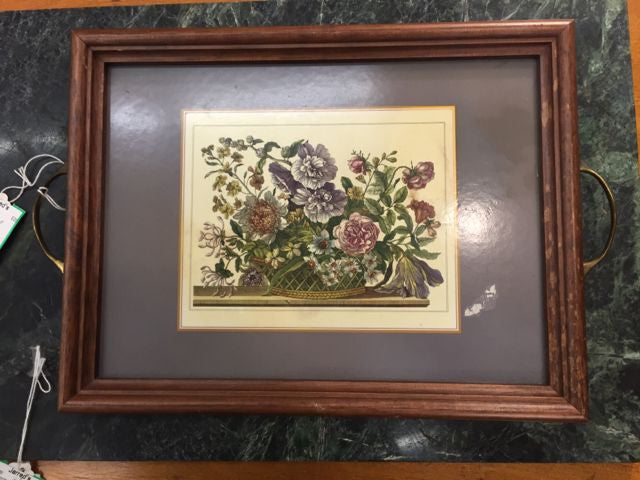 Handled Framed Print / Tray