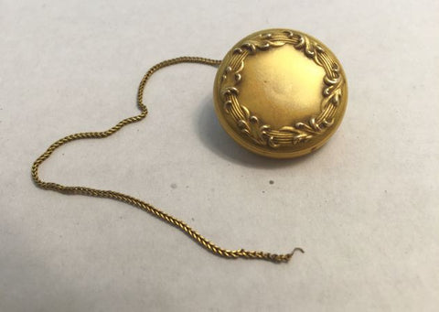 Ketcham McDougall NY 1903 Rectractable Chain Pin for Key, Pen, Glasses, etc. - Jarred's Homegoods / Treasure Brokers  - 1