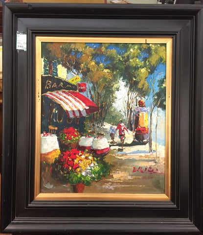 Large Framed Print - Jarred's Homegoods / Treasure Brokers