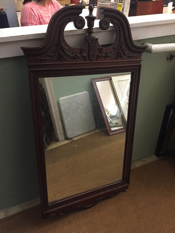 Mahogany Mirror - Jarred's Homegoods / Treasure Brokers