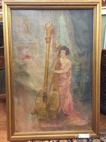 "Oil on Canvas Inside  24"" x 36"" - Jarred's Homegoods / Treasure Brokers  - 1"