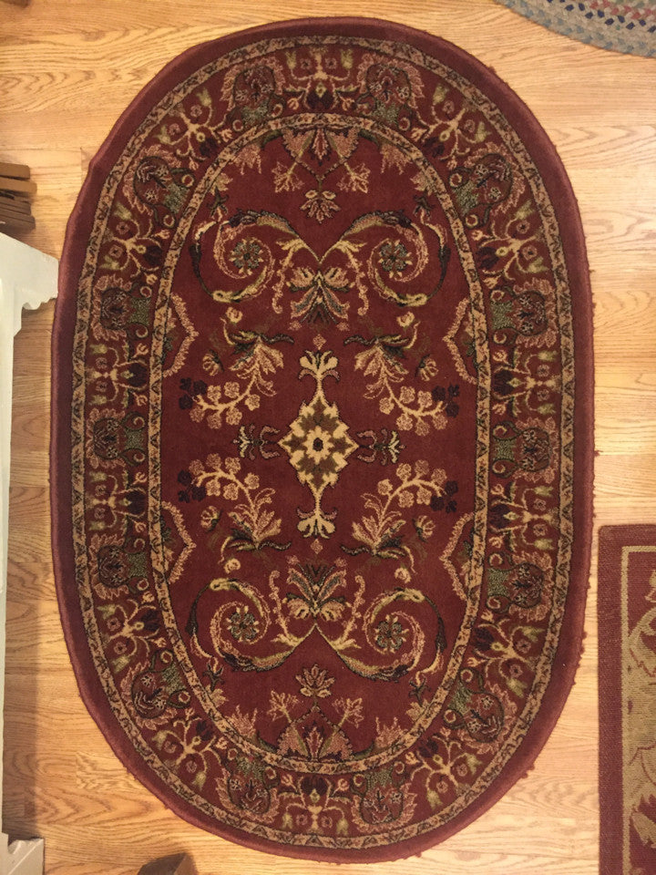 Oval Rug - Jarred's Homegoods / Treasure Brokers  - 1