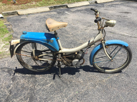 Raleigh Runabout Motobecane classic moped - Jarred's Homegoods / Treasure Brokers  - 1