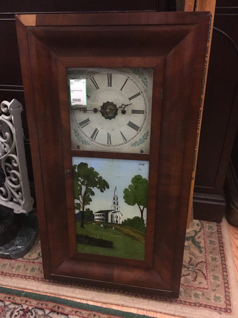 Reverse Painting Ogee Clock