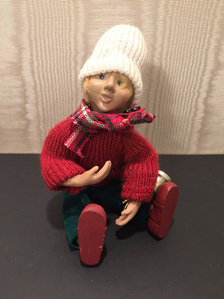 Small Holiday Boy Doll