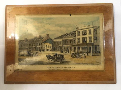 View in Fourth Avenue N.Y. between 10th and 11th Streets.  1861 - Jarred's Homegoods / Treasure Brokers  - 1