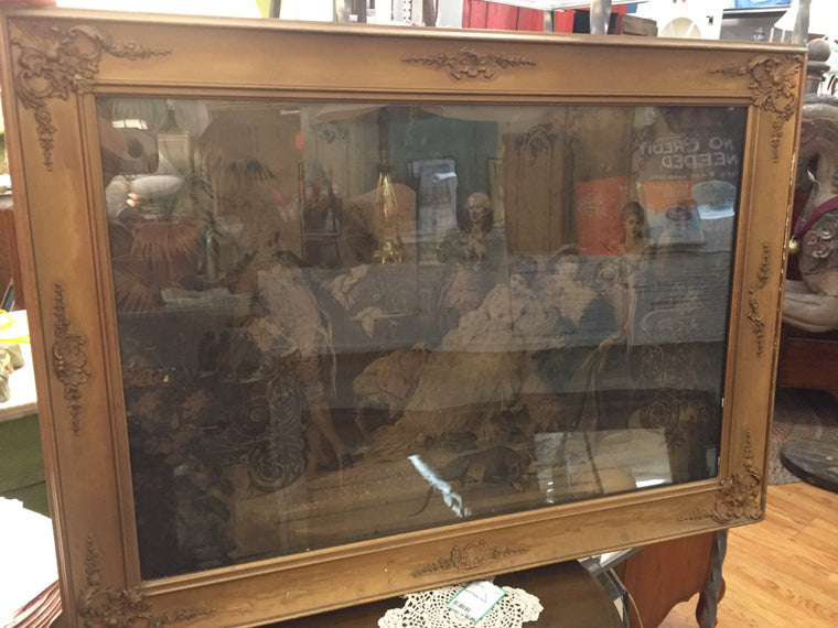 Vintage Gold Frame - Jarred's Homegoods / Treasure Brokers  - 1