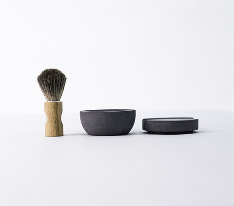 shaving cup & soap