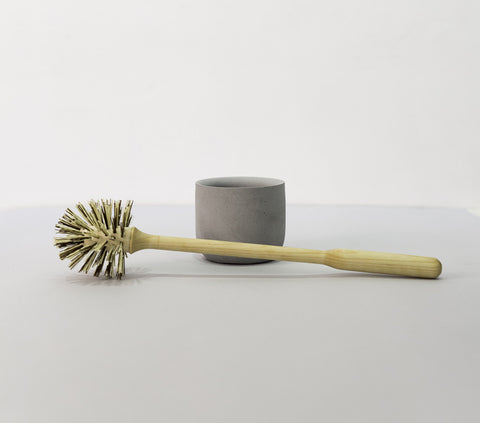 toilet brush grey