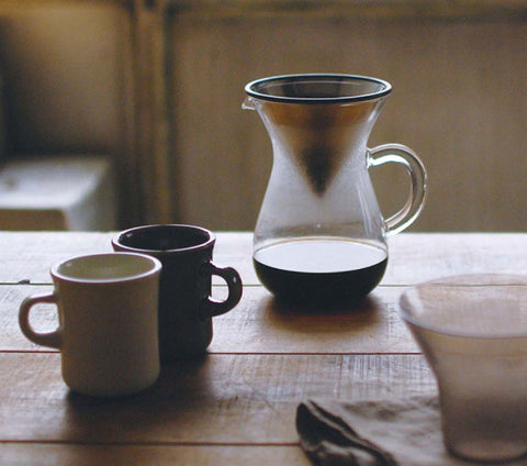 japanese slow coffee carafe set
