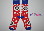 Jim's novelty Socks 2 Pack (Limited Edition)