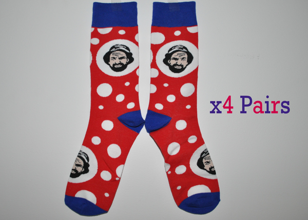 Jim's novelty Socks 5 Pack (Limited Edition)
