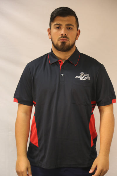 Men's Blind Cleaning Polo