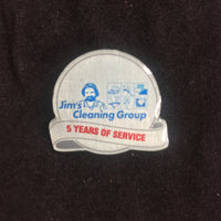 5yr Service Pin with Black Soft Cloth Pouch