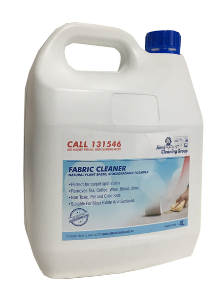 Fabric Cleaner - Carpet Spotter  - 4ltr
