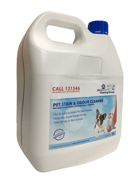Pet Stain & Odour remover 4Ltr
