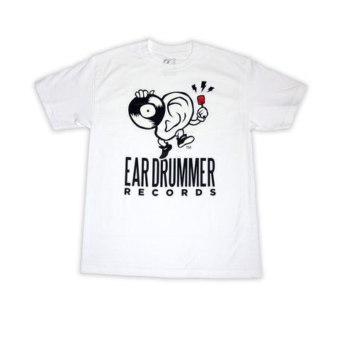Ear Drummer Records White Tee