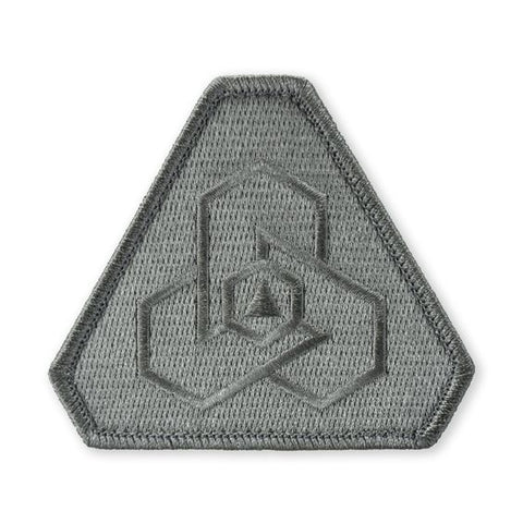 PDW Logo Morale Patch - Shadow Gray - Tactical Outfitters