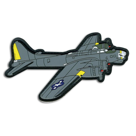 B-17 BOMBER PVC MORALE PATCH - Tactical Outfitters