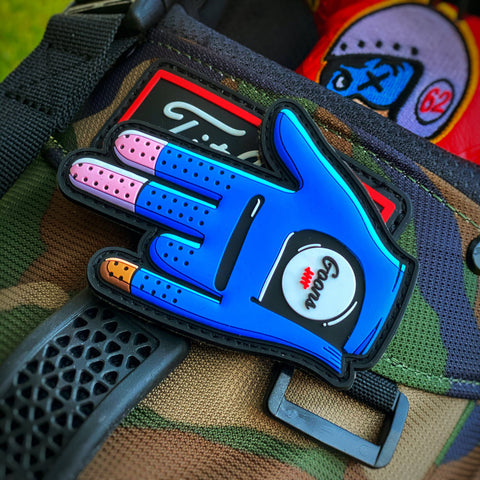 Goons Golf™️Shocker Glove PVC Morale Patch - Tactical Outfitters