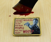 The Walking Dead 3 Questions Morale Patch - Tactical Outfitters