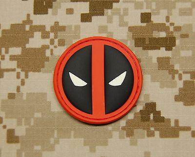 DEADPOOL GITD 3D PVC MORALE PATCH - Tactical Outfitters